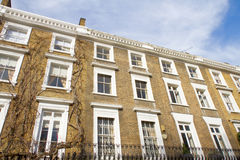 Alloggiamento di lusso in Knightsbridge Londra Immagini Stock Libere da Diritti