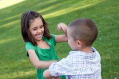 Alloggiamento di massima dei bambini Fotografia Stock Libera da Diritti