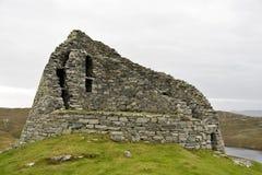 Alloggiamento di pietra antico in Scozia Immagini Stock Libere da Diritti