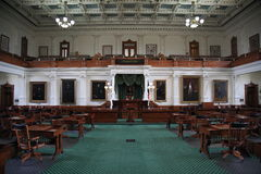 Alloggiamento di senato di Austin il Texas Immagine Stock Libera da Diritti