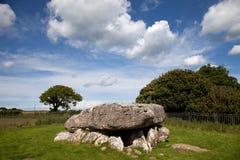 Alloggiamento di sepoltura di Lligwy Immagini Stock Libere da Diritti