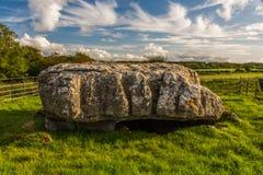 Alloggiamento di sepoltura di Lligwy Fotografia Stock