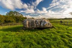 Alloggiamento di sepoltura di Lligwy Immagine Stock