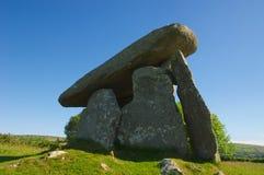 Alloggiamento di sepoltura neolitico Fotografie Stock Libere da Diritti
