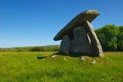 Alloggiamento di sepoltura neolitico Fotografie Stock