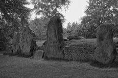 Alloggiamento di sepoltura neolitico Immagini Stock Libere da Diritti