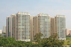 Alloggiamento generico sotto forma di gli appartamenti Fotografia Stock