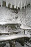 Alloggiamento ghiacciato Immagini Stock