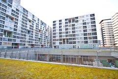 Alloggiamento residenziale di alto aumento Immagine Stock
