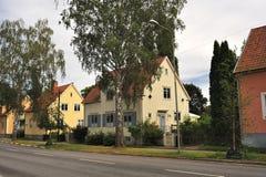 Alloggiamento svedese Immagini Stock