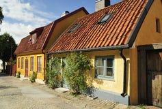 Alloggiamento svedese Fotografie Stock