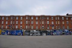 Alloggio accanto al ponte di Stamford, terra domestica di Chelsea F C Immagine Stock