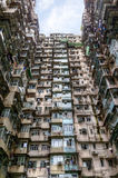 Alloggio ammucchiato in Hong Kong Immagine Stock
