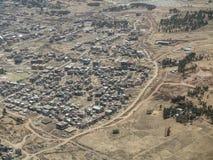 Alloggio a basso costo in Africa Fotografie Stock