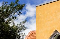 Alloggio caratteristico di Skagen Fotografie Stock