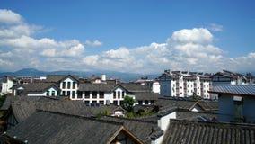 Alloggio cinese in Sichuan Fotografia Stock Libera da Diritti
