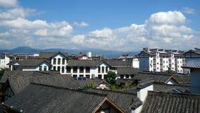 Alloggio cinese in Sichuan Immagini Stock Libere da Diritti
