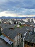 Alloggio cinese in Sichuan Fotografia Stock