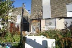 Alloggio dei bassifondi, Bransholme, Kingston sopra il guscio Immagine Stock