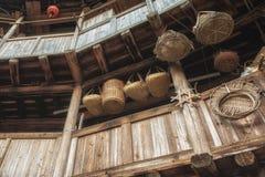 Alloggio del cinese tradizionale di Tulou Immagini Stock Libere da Diritti
