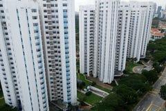 Alloggio del condominio a Singapore Fotografia Stock
