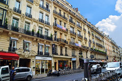 Alloggio dell'appartamento di Parigi Immagini Stock