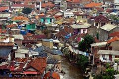 Alloggio della baracca, Indonesia Immagine Stock