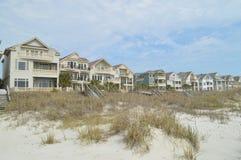 Alloggio della parte anteriore di oceano, Hilton Head Island, Carolina del Sud Immagini Stock