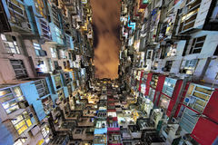 Alloggio di aumento della baia della cava alto in Hong Kong China Fotografia Stock