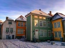Alloggio di Bergen Fotografia Stock Libera da Diritti