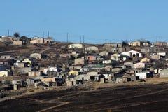 Alloggio di distretto nel fiume Sudafrica di Mooi Fotografie Stock Libere da Diritti