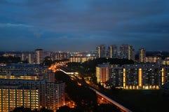Alloggio di governo & della stazione ferroviaria a Singapore Immagine Stock Libera da Diritti
