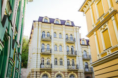 Alloggio di lusso nel centro di Kiev Fotografia Stock Libera da Diritti