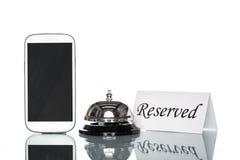 Alloggio di prenotazione di hotel di cooperazione del sito Web di globalizzazione, interno Immagini Stock
