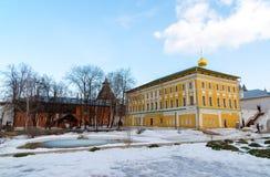 Alloggio di Samuilov nel Cremlino in Rostov Velikiy, Russia Fotografia Stock Libera da Diritti