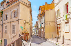 Alloggio di vecchia Marsiglia Fotografie Stock
