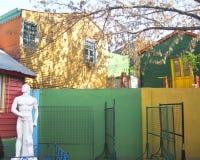 Alloggio dipinto in La Boca, Argentina Fotografia Stock Libera da Diritti
