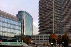 Alloggio e complessi di uffici, Bruxelles, Belgio Fotografie Stock Libere da Diritti