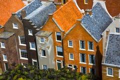 Alloggio ed architettura dei Paesi Bassi Fotografia Stock Libera da Diritti