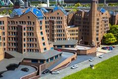 Alloggio ed architettura dei Paesi Bassi Immagini Stock Libere da Diritti