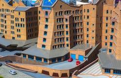 Alloggio ed architettura dei Paesi Bassi Immagini Stock