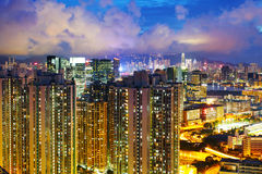 Alloggio in Hong Kong Immagine Stock