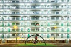 Alloggio in Hong Kong Fotografie Stock Libere da Diritti