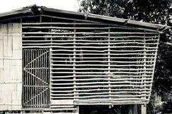 Alloggio malese tradizionale Fotografie Stock