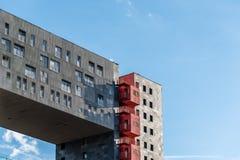 Alloggio moderno a Madrid da MVRDV Fotografia Stock