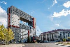 Alloggio moderno a Madrid da MVRDV Immagine Stock