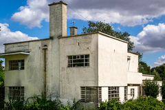 Alloggio moderno nell'estremità dell'argento dell'Inghilterra Essex Fotografie Stock