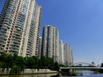 Alloggio moderno a Shanghai Immagine Stock Libera da Diritti