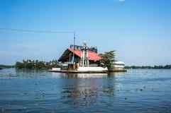 Alloggio nel lago nel dispensiere India Fotografie Stock