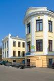 Alloggio ospedale di Zemsky dell'ospedale clinico di emergenza della città di Homiel'di precedente, Bielorussia Immagine Stock
